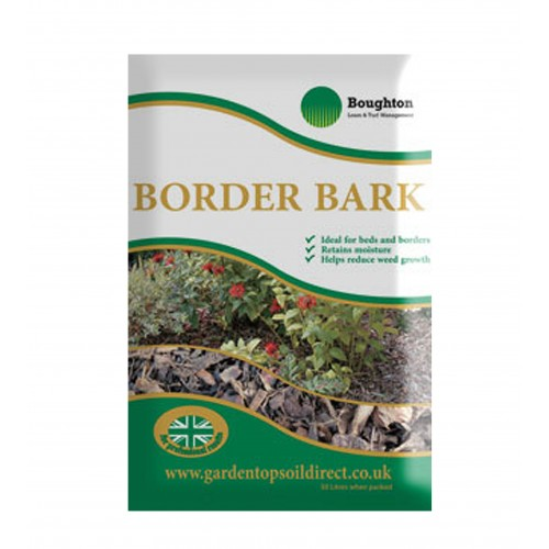 Border bark mulch delivered
