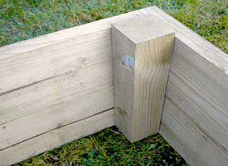 How to build a raised bed - 4