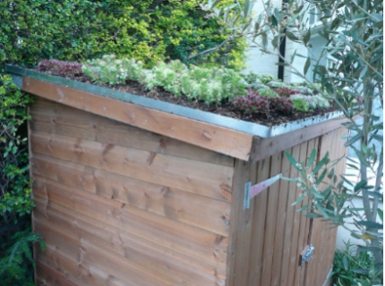How to build a roof garden 1