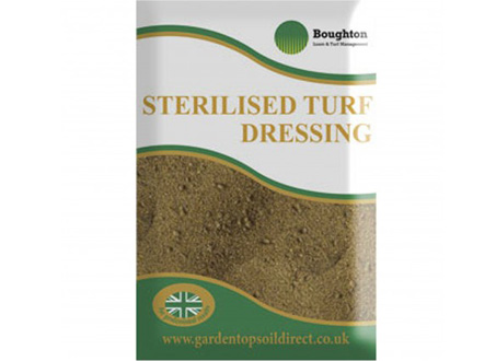 sterilised turf dressing